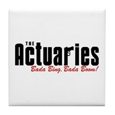 The Actuaries Bada Bing Tile Coaster