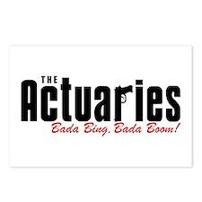 The Actuaries Bada Bing Postcards (Package of 8)
