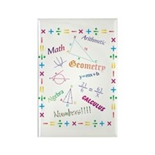 Math Rectangle Magnet (10 pack)