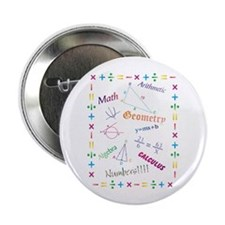 "Math 2.25"" Button (10 pack)"