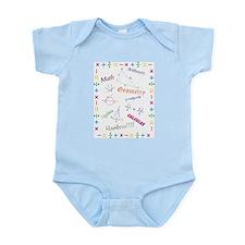 Math Infant Bodysuit