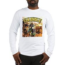 Once an Elkaholic Always an E Long Sleeve T-Shirt