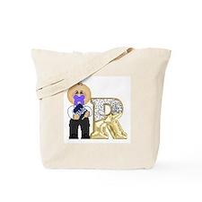 Baby Initials - R Tote Bag