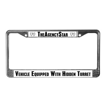 TheAgencyStar License Frame