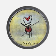 The Bistro Chair Wall Clock