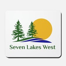 Seven Lakes West Mousepad