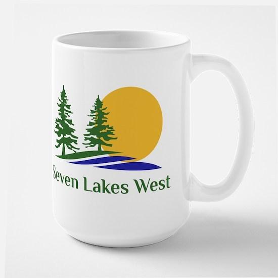 Seven Lakes West Large Mug