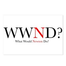 What Would Newton Do? Postcards (Package of 8)