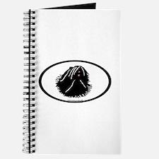 Puli Dog Oval Journal