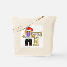 Baby Initials - T Tote Bag