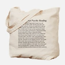 Personal Reading Tote Bag