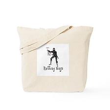 Knitting Ninja Tote Bag