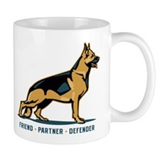German Shepherd Friend Mug