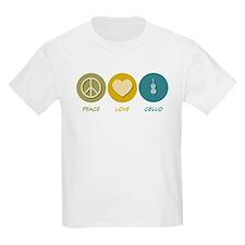 Peace Love Cello T-Shirt
