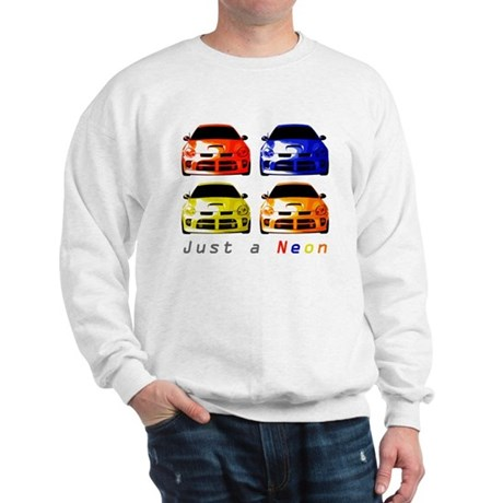 Just a Neon Sweatshirt