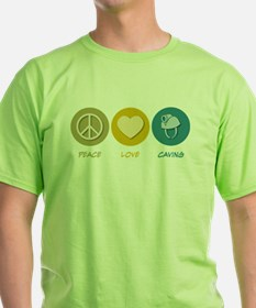 Peace Love Caving T-Shirt