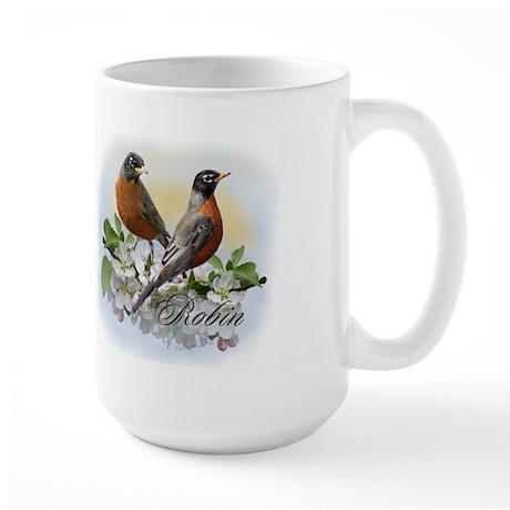 American Robin Large Mug