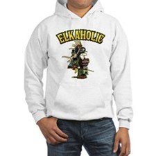 Once an Elkaholic Always an E Hoodie