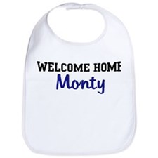 Welcome Home Monty Bib