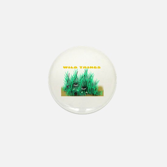 Wild Things Mini Button