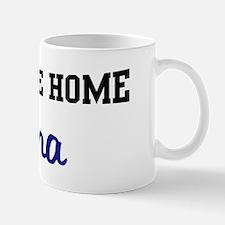 Welcome Home Anna Mug