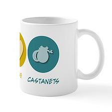 Peace Love Castanets Mug