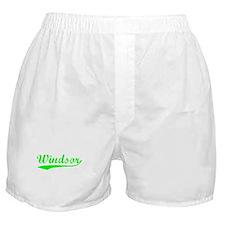 Vintage Windsor (Green) Boxer Shorts