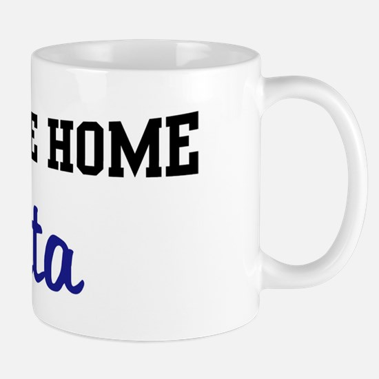 Welcome Home Anita Mug