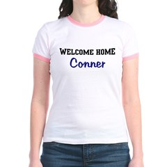 Welcome Home Conner Jr. Ringer T-Shirt