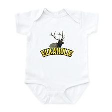 ELKAHOLIC elk hunter gifts Infant Bodysuit