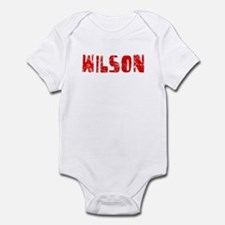 Wilson Faded (Red) Infant Bodysuit