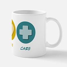 Peace Love Care Mug