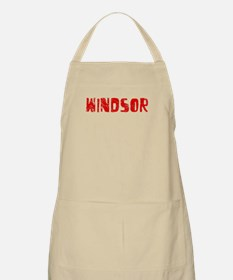 Windsor Faded (Red) BBQ Apron