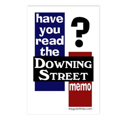 Downing Street Memo (8 Postcards)