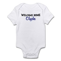 Welcome Home Clyde Infant Bodysuit