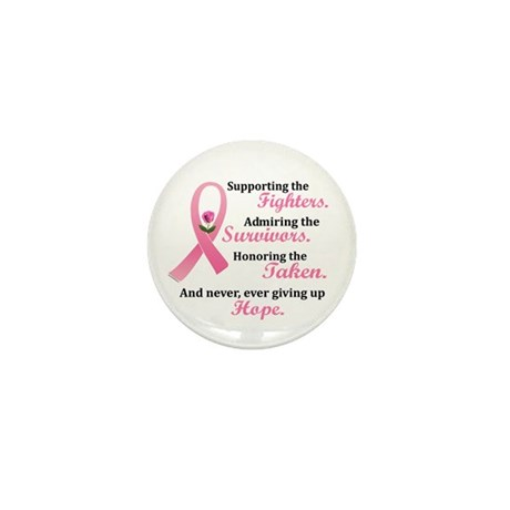Supporting, Admiring, Honoring 2 Mini Button (10 p