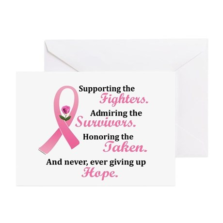 Supporting, Admiring, Honoring 2 Greeting Cards (P