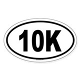 10k Bumper Stickers