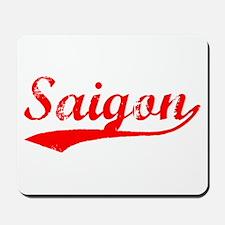 Vintage Saigon (Red) Mousepad