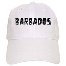 Barbados Faded (Black) Baseball Cap