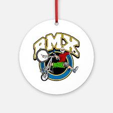 BMX Logo Ornament (Round)