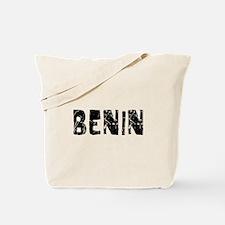 Benin Faded (Black) Tote Bag