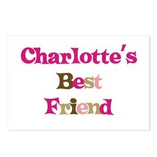 Charlotte 's Best Friend Postcards (Package of 8)