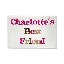 Charlotte 's Best Friend Rectangle Magnet
