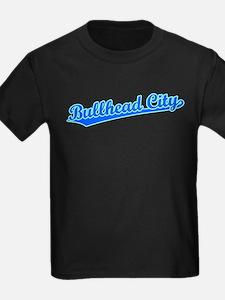 Retro Bullhead City (Blue) T