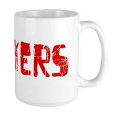 Yonkers Faded (Red) Mug
