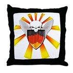 German Defender Shield Throw Pillow