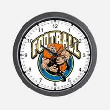 Football Logo Wall Clock