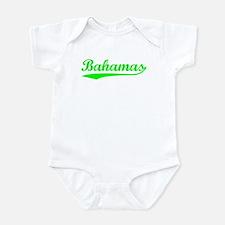 Vintage Bahamas (Green) Onesie