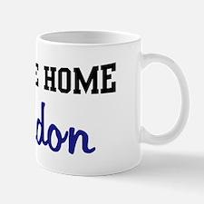 Welcome Home Brandon Mug